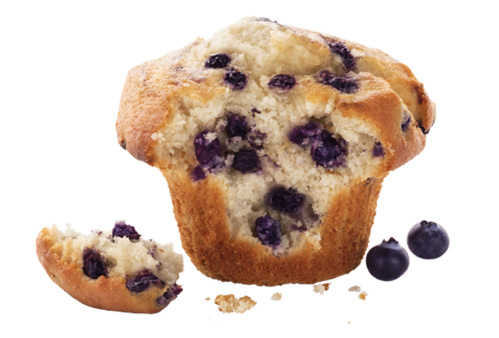 Skinny Blueberry Muffin
